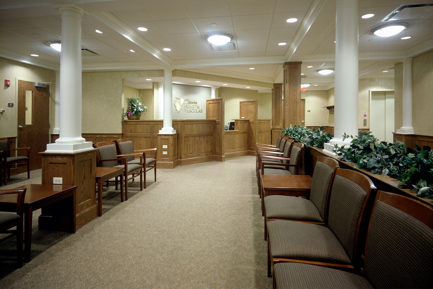 Illinois Heart & Vascular waiting room