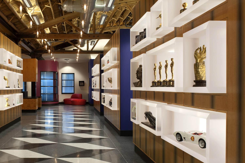 Kinowerks Post Production Film Studio hallway