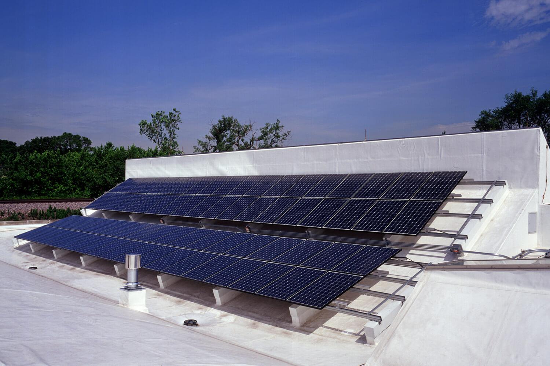 Kinowerks Post Production Film Studio solar panels