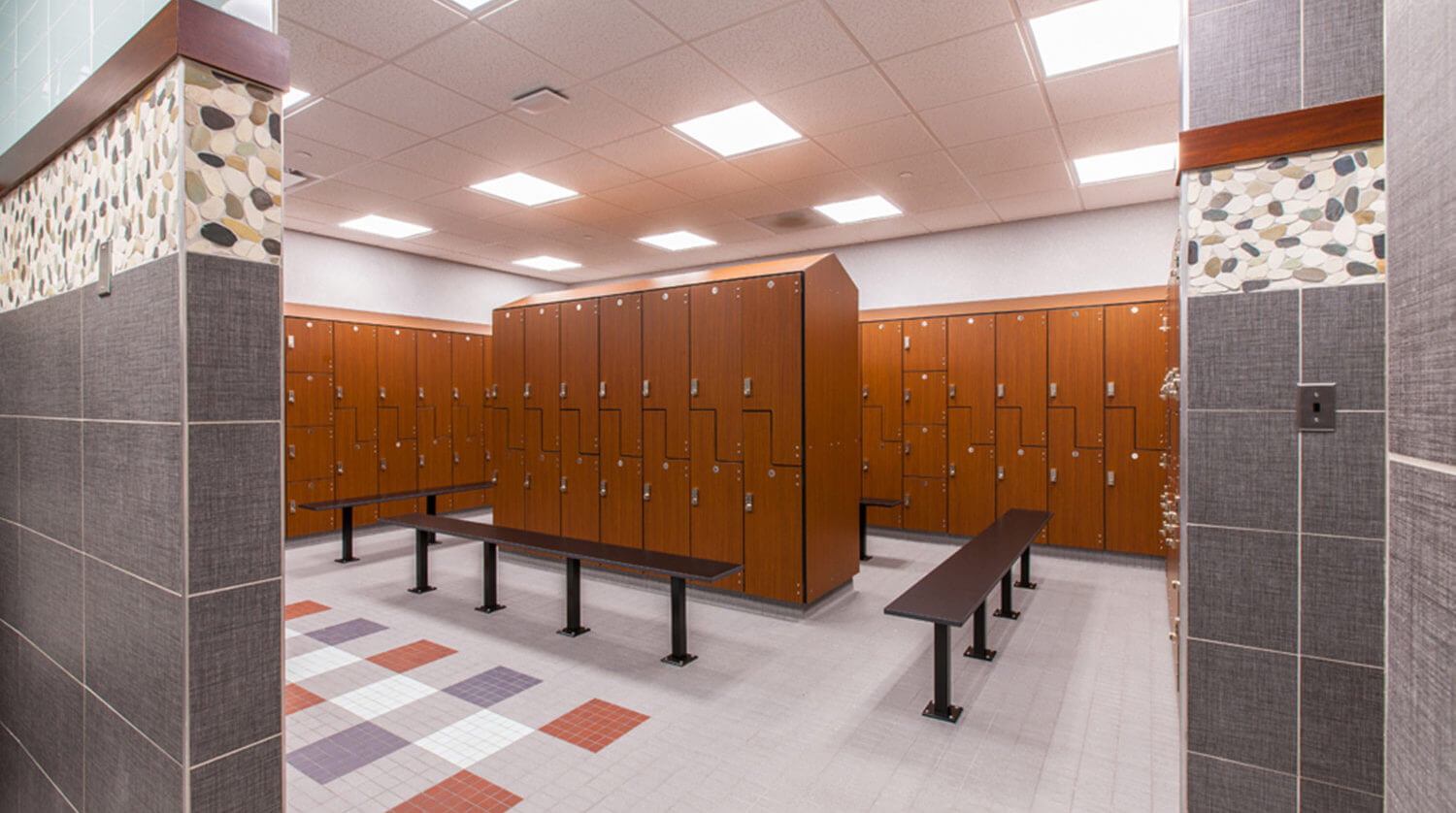 LaGrange Park District Fitness Locker room2