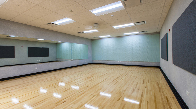 LaGrange Park District Fitness dance room