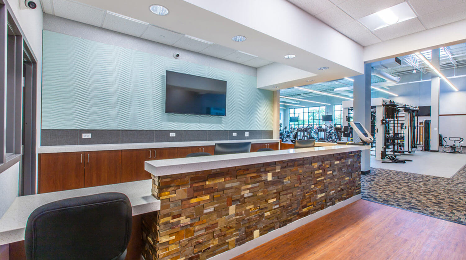 LaGrange Park District Fitness interior