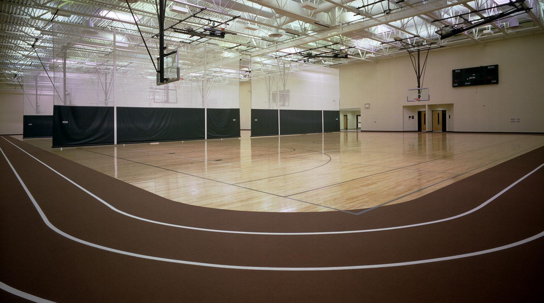 LaGrange Park District_ Recreation Center bastketball courts 2
