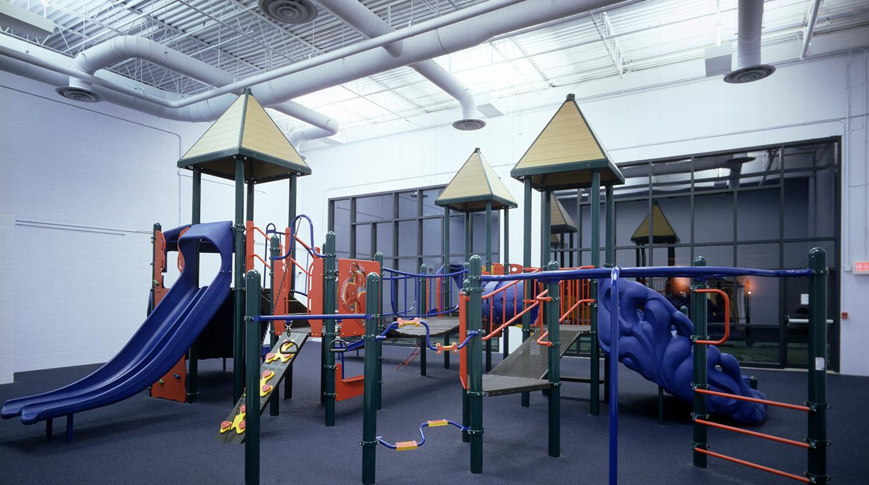 LaGrange Park District_ Recreation Center indoor playground