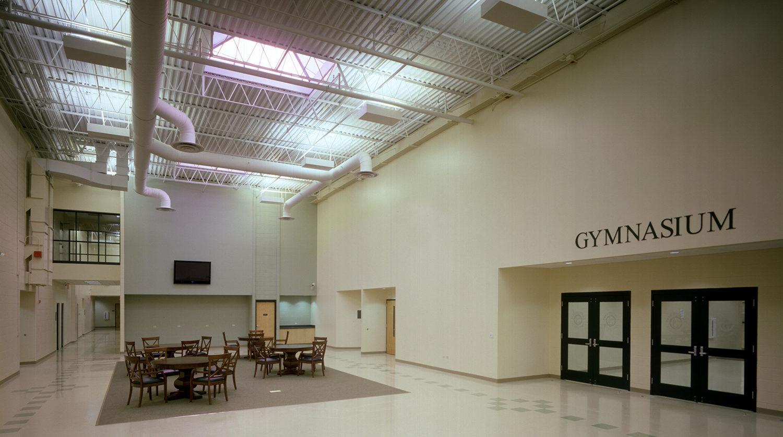 LaGrange Park District_ Recreation Center interior