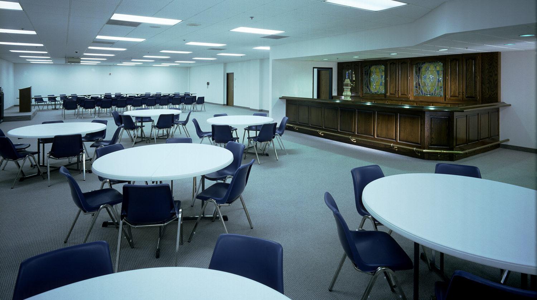LaGrange Park District_ Recreation Center tables