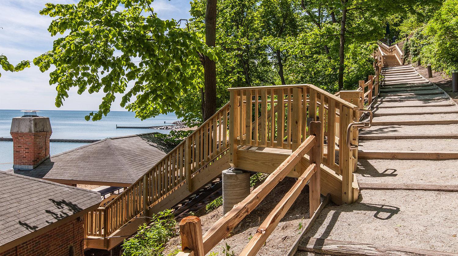 Lake Bluff Stairs