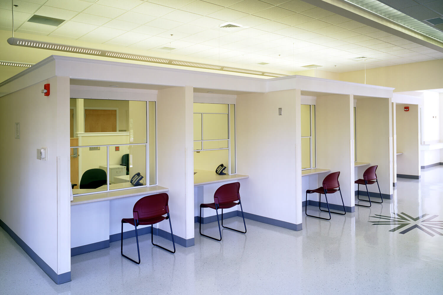 Lake County Health Clinic interior