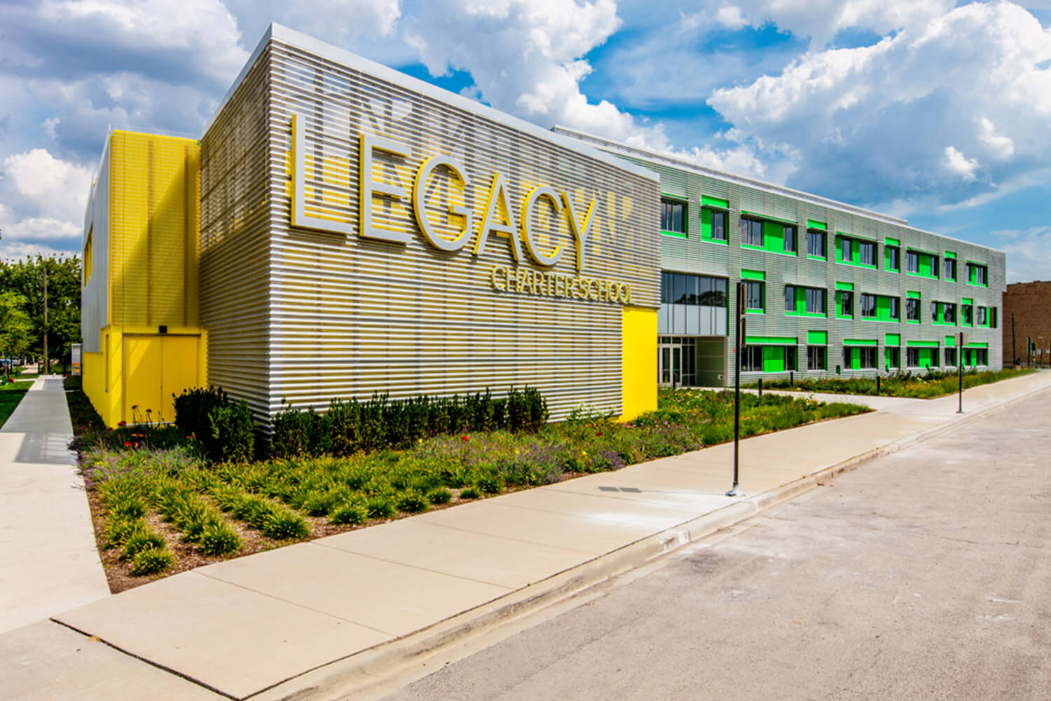 Legacy Charter School exterior