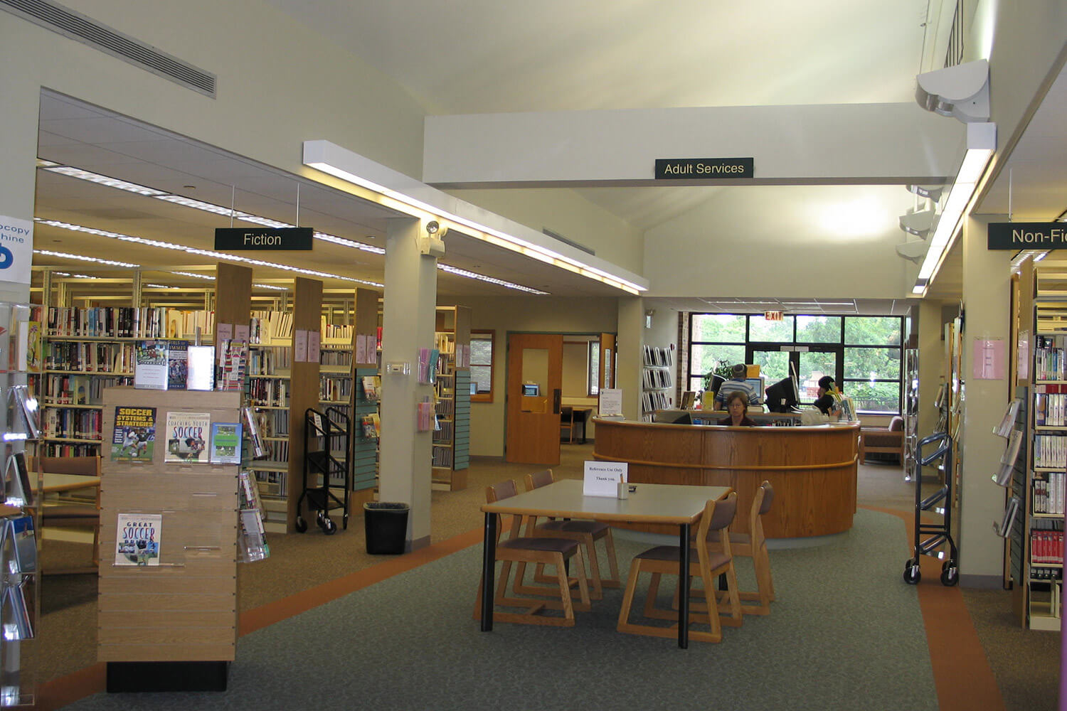 Lincolnwood Public Library interior 8