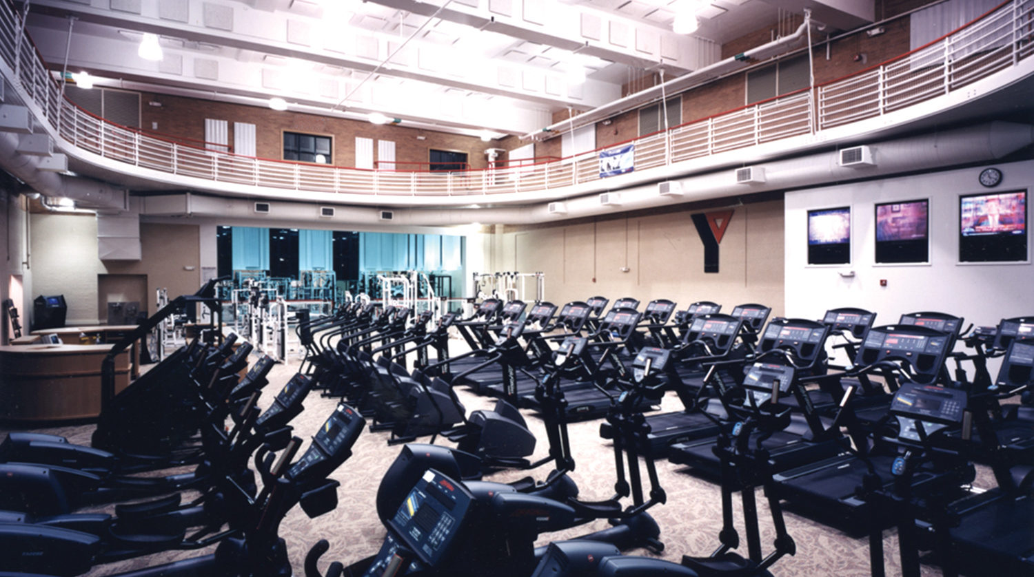 McGaw YMCA exercise machines