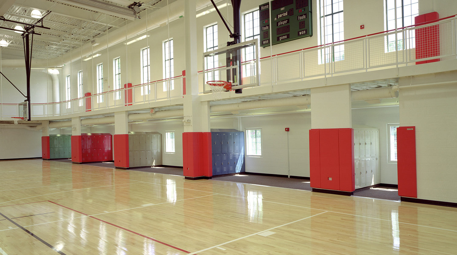 McGaw YMCA gym