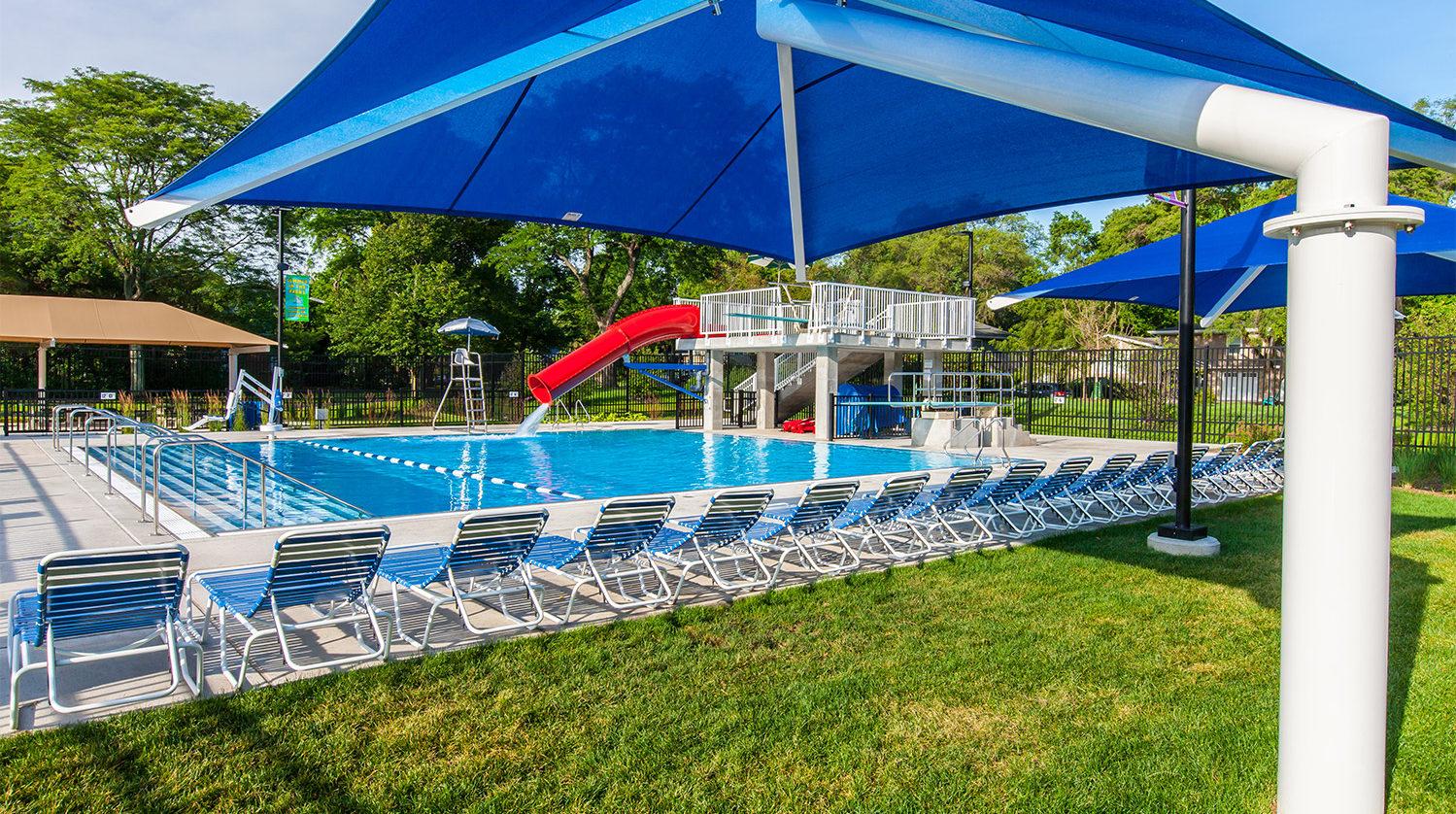 Mitchell Pool Dive tank