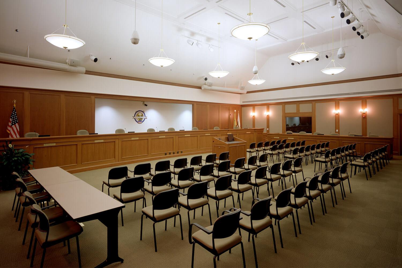 Mount Prospect Village Hall assembly hall