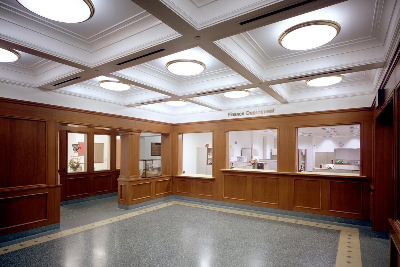 Mount Prospect Village Hall finance department