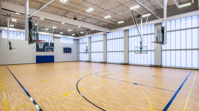 Mundelein Dunbar Recreation Center gym