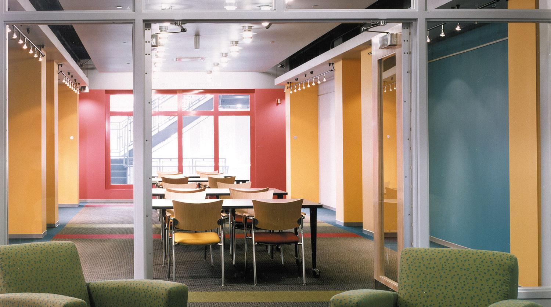 North Park University Brandel Library interior
