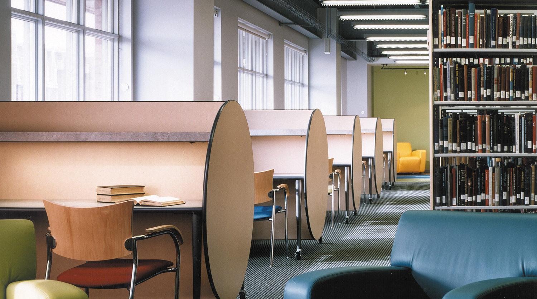 North Park University Brandel Library interior 2