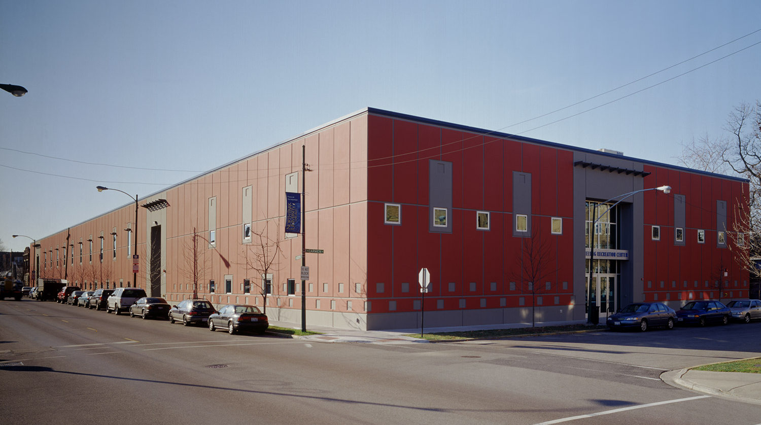North Park University Helwig Recreation Center exterior