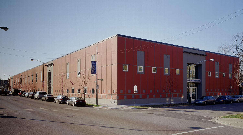 North Park University Helwig Recreation Center exterior