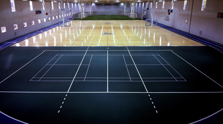North Park University Helwig Recreation Center interior
