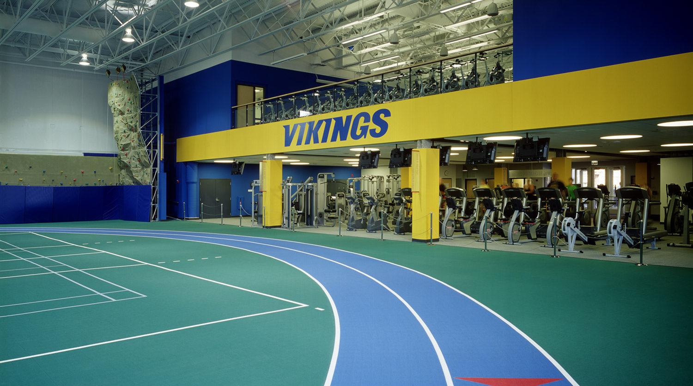 North Park University Helwig Recreation Center interior 2