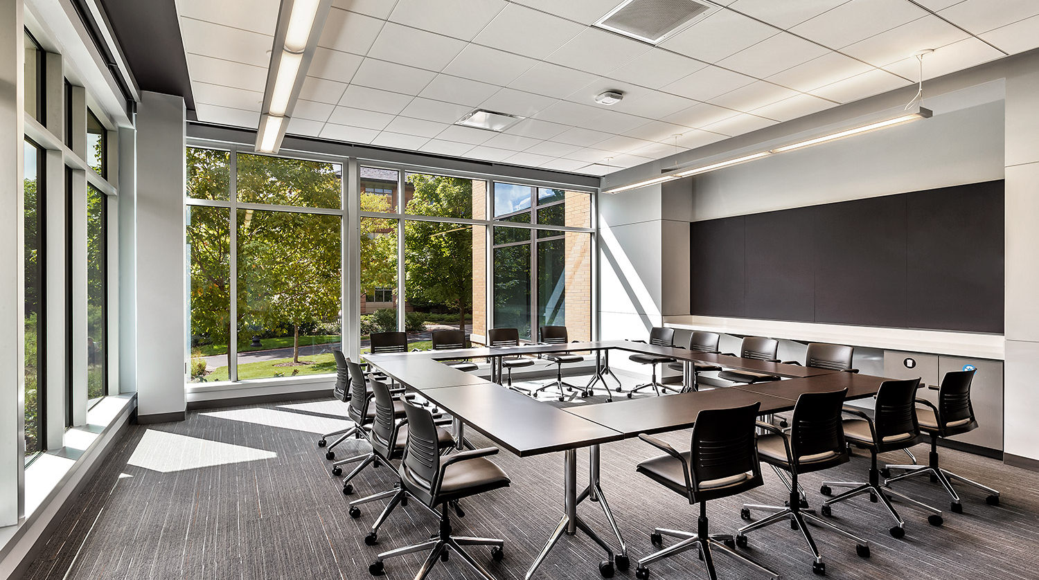 North Park University Johnson Center classroom