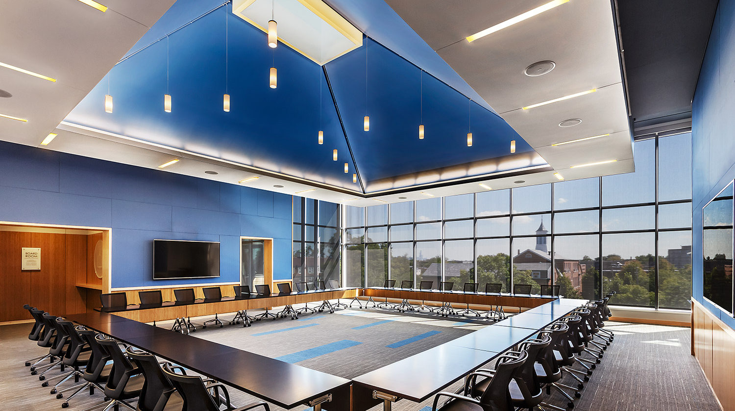 North Park University Johnson Center conference room