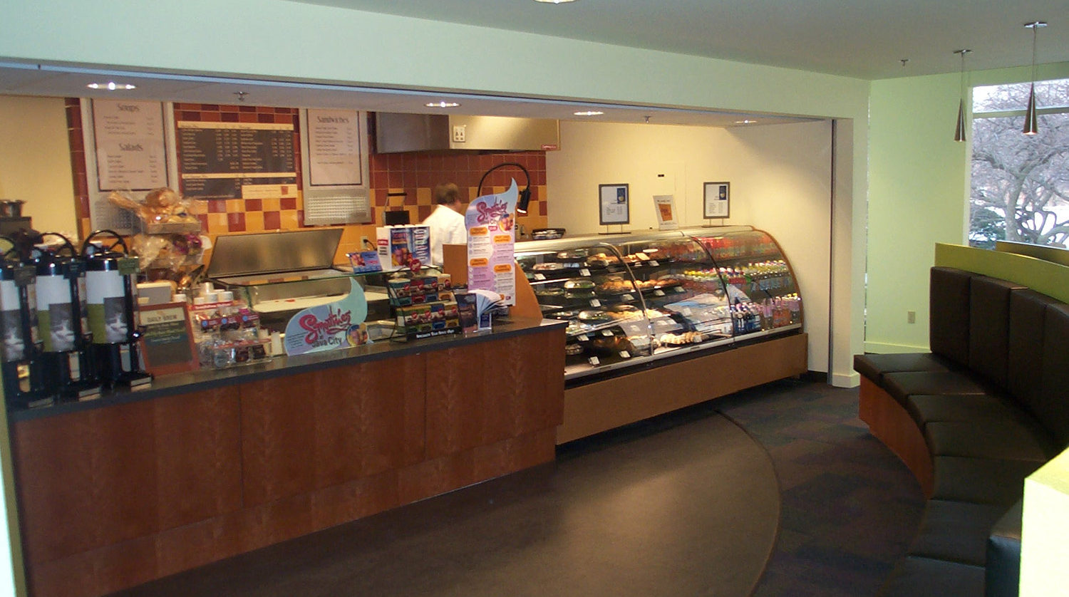 North Park University_ Viking Cafe counter 2