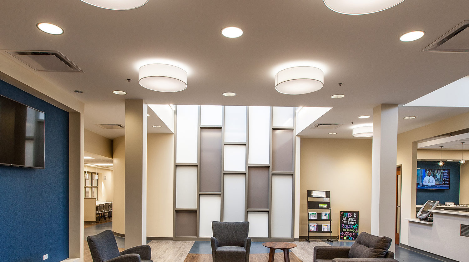 Northfield Park District – Fitness Center Addition Lobby
