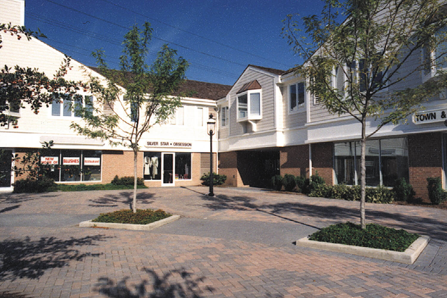 Northfield Village Center courtyard