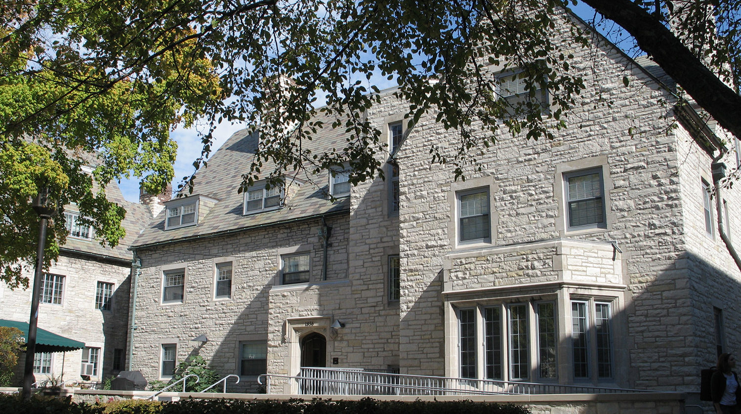 Northwestern University 1856 Orrington Residence Hall exterior