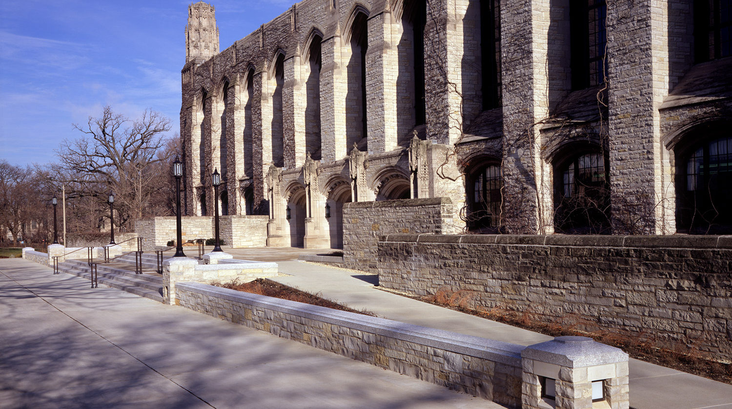 Northwestern University Deering Library exterior