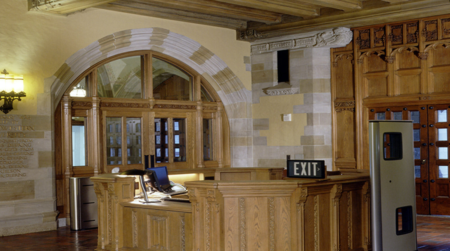 Northwestern University Deering Library interior-two