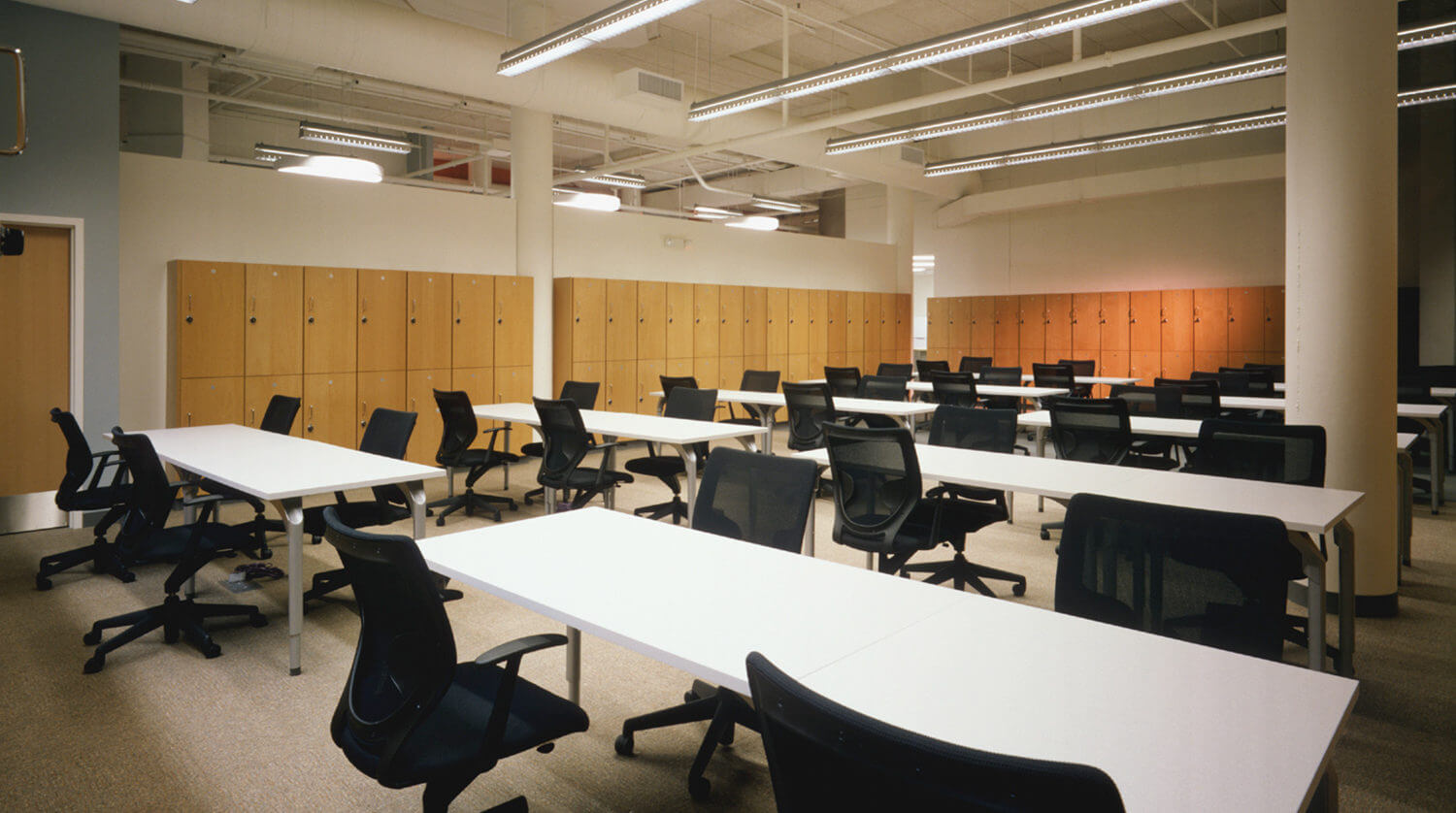 Northwestern University Frances Searle Building classroom