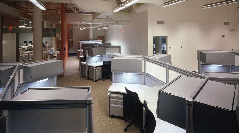 Northwestern University Frances Searle Building desks