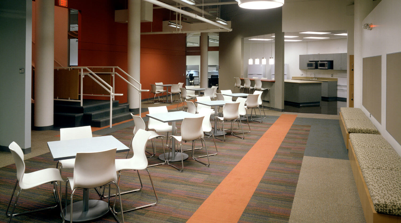 Northwestern University Frances Searle Building tables
