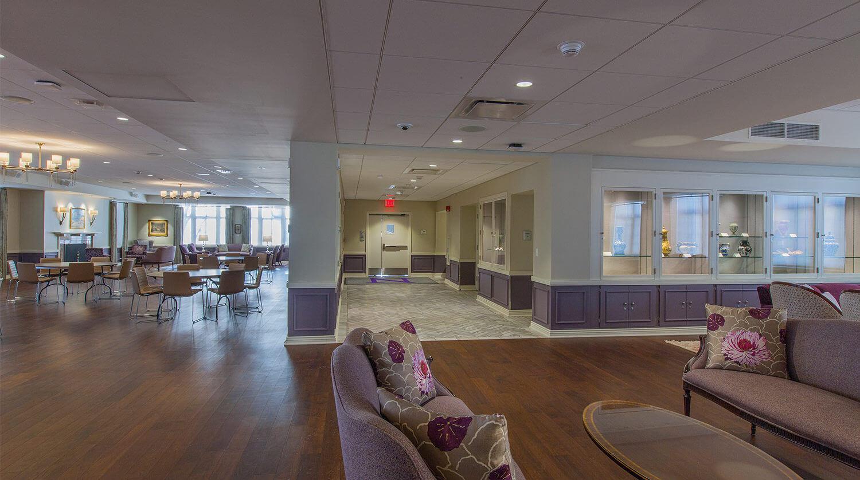 Northwestern University – Guild Lounge Renovation 1