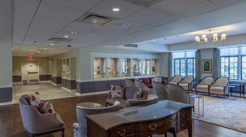Northwestern University – Guild Lounge Renovation 6