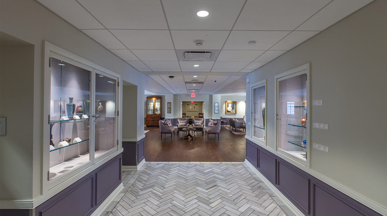 Northwestern University – Guild Lounge Renovation 7