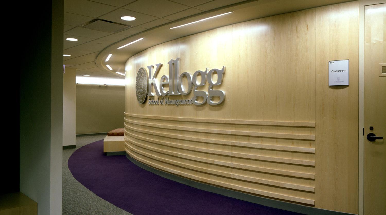 Northwestern University Kellogg Graduate School of Management hallway
