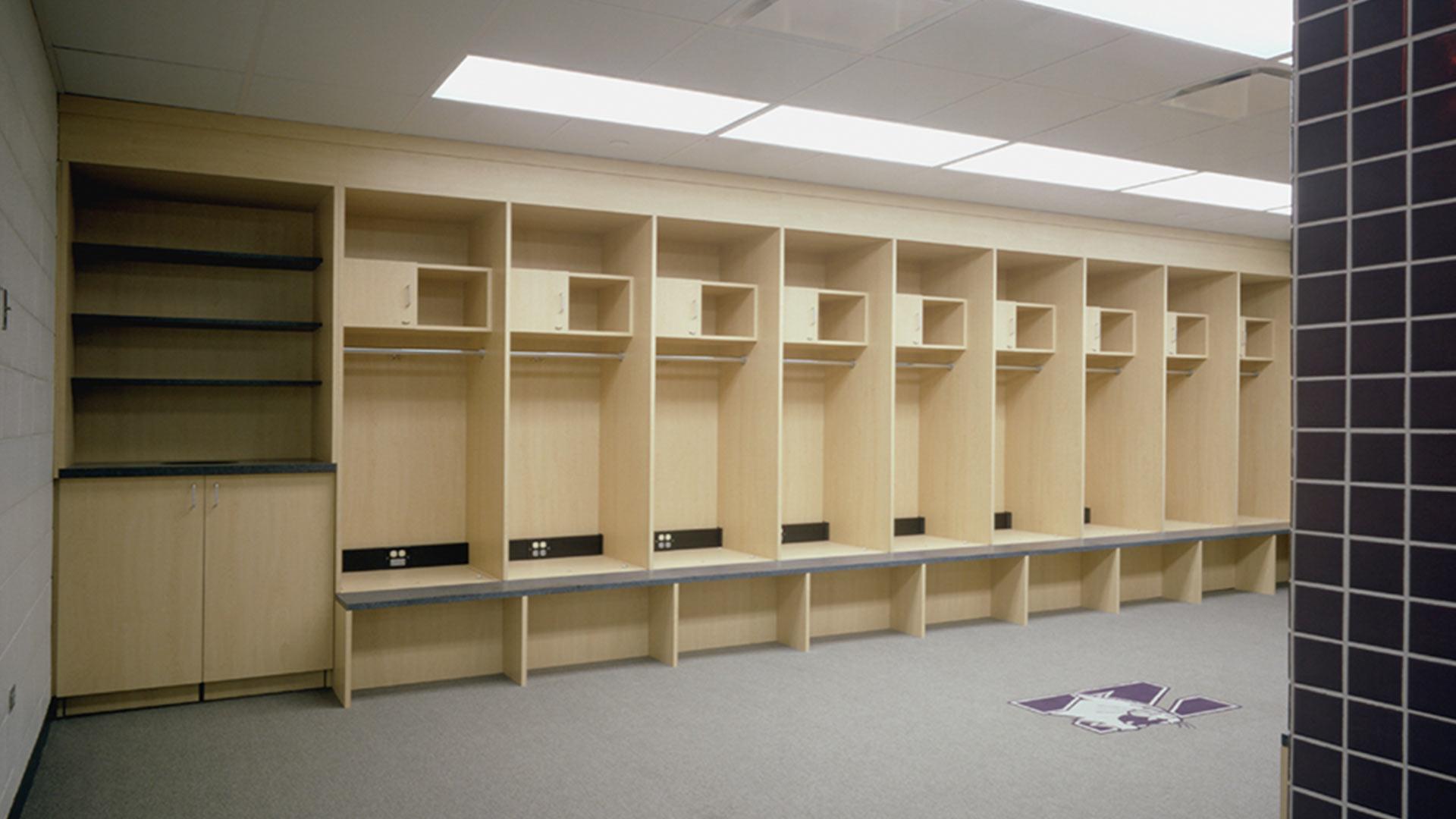 Northwestern University Locker Room Renovations