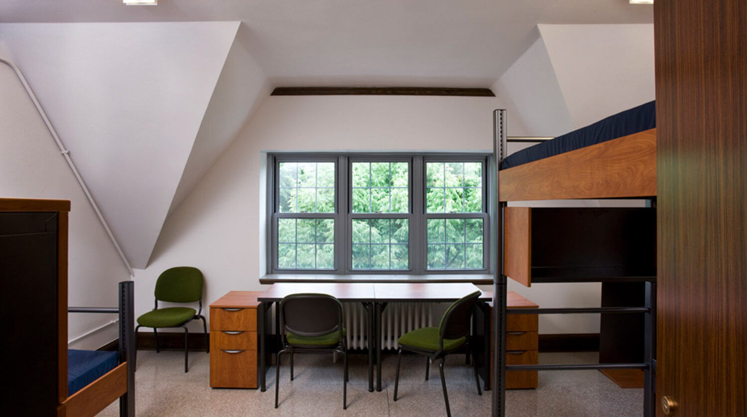 Northwestern University Rogers House Residence Hall dorm room