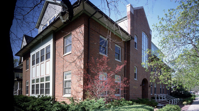 Northwestern University Transportation Center exterior