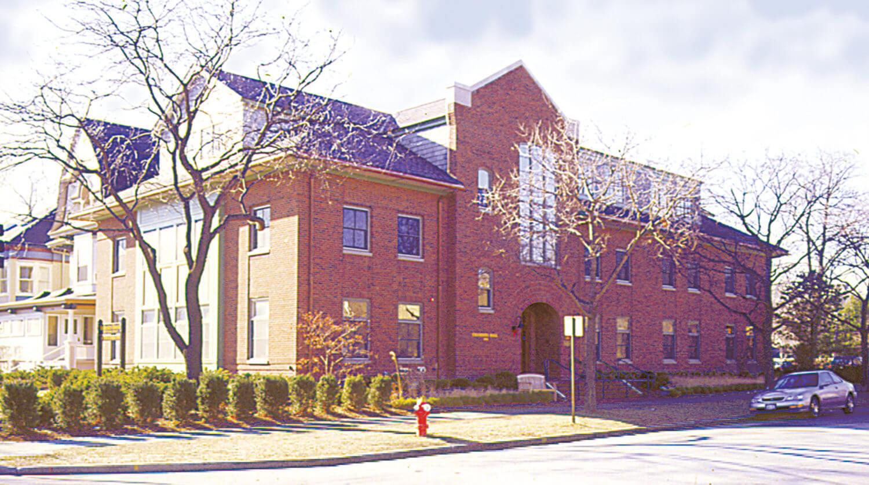 Northwestern University Transportation Center exterior 2