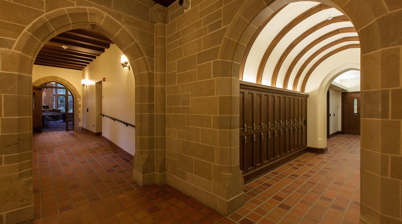 Northwestern University_ Seabury Hall Hall Corner