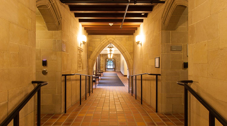 Northwestern University_ Seabury Hall Hallway