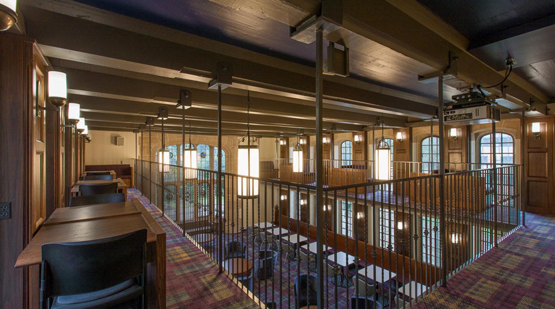 Northwestern University_ Seabury Hall Library 2nd Floor