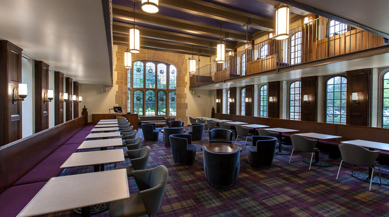 Northwestern University_ Seabury Hall Library sitting area