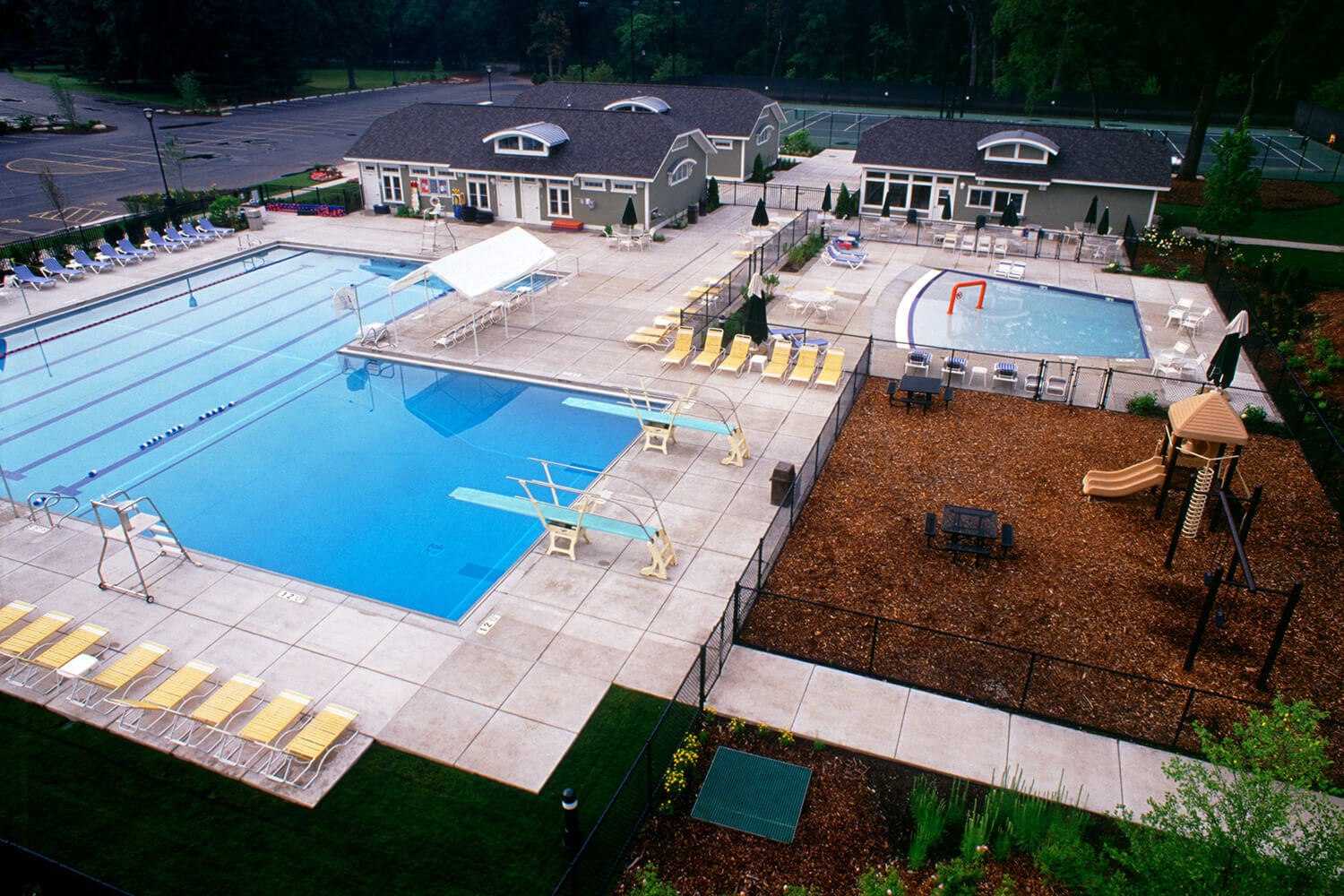 Oak Park Country Club pool
